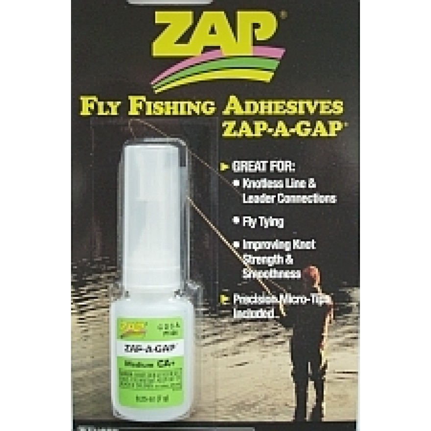 Zap-A-Gap Flyfishing Adhesives