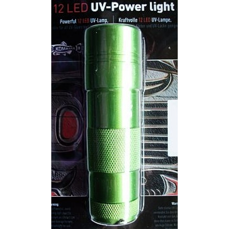 UV Power Lampe 12 LED