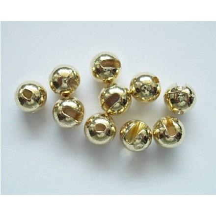 regenbogen Fliegenbinden Geschlitzte Perlen Tungsten Slotted Beads