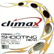 Climax Shooting Head-Single Hand Floating