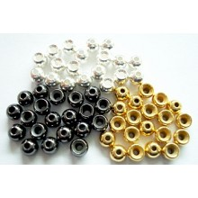 Messing-Perlen Brass Beads 2,8mm-20Stck.
