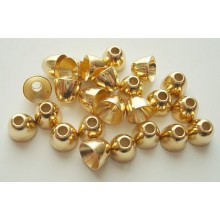 Coneheads-gold-6,0mm-24 Stck.