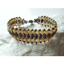 Bracelet Diamond-brown iris