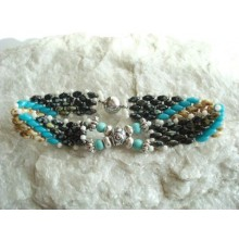 Bracelet-silver turquoise