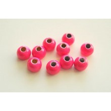 Tungstenperlen pink/5,0mm-10 Stck.