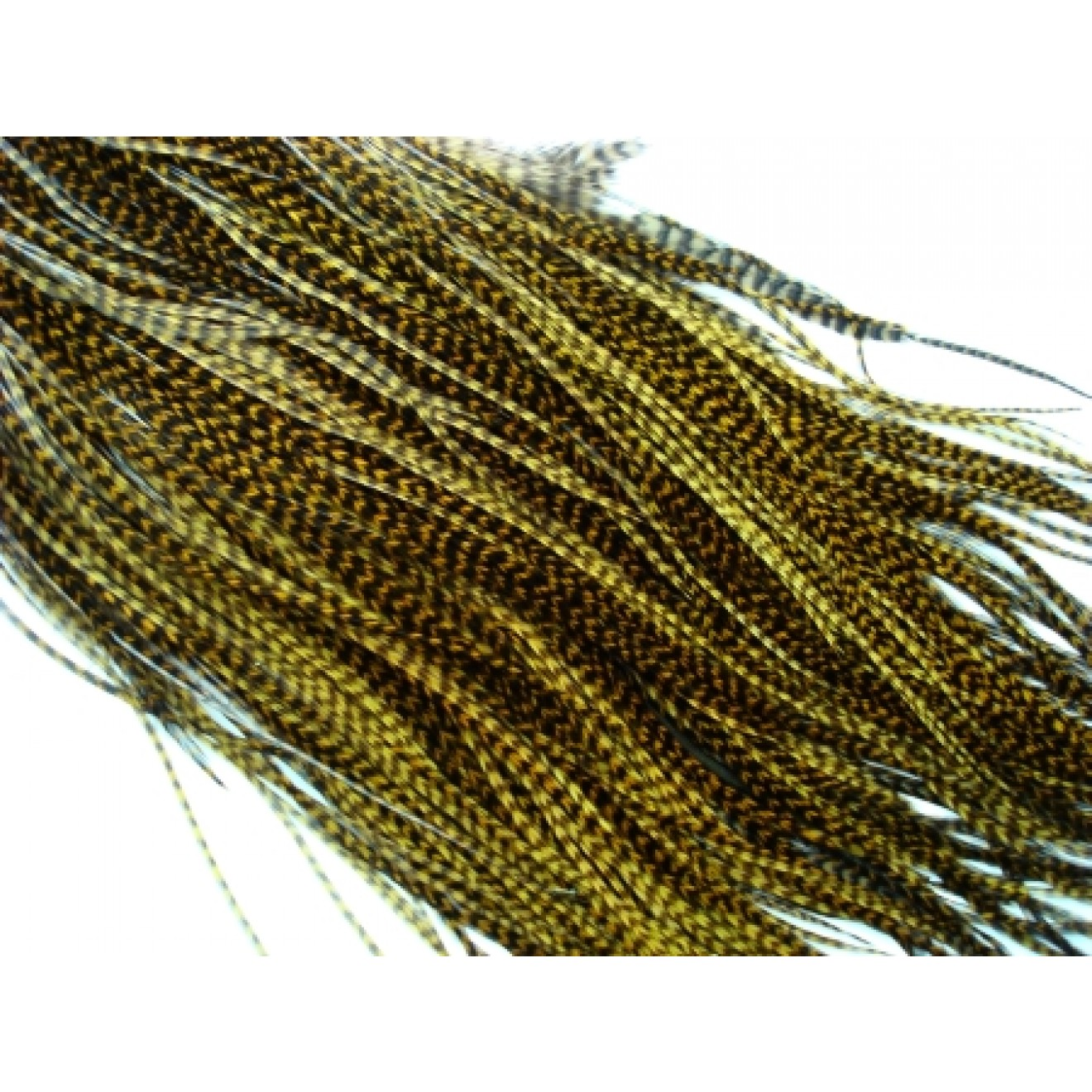 Whiting DryFlyHackle Bronze-dark oliv